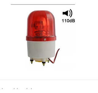 Lampara Led Baliza Giratoria Advertencia Emergencia 220v