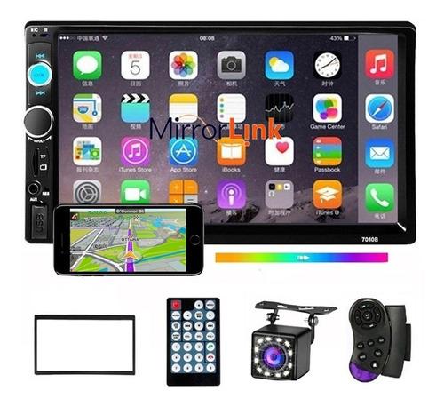Radio Para Auto 2 Din Con Bluetooth Y Pantalla Táctil