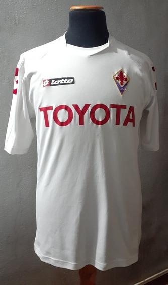 Camiseta Fiorentina 2008 Lotto Italia