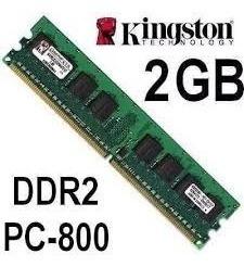 Memorias Kingston 2 Gb 667 800 Mhz Obelisco