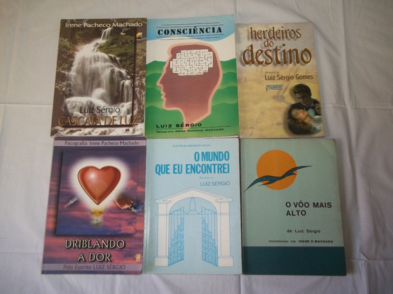 Livro Luiz Sérgio Gomes Irene Machado Lote Com 6 Titulos