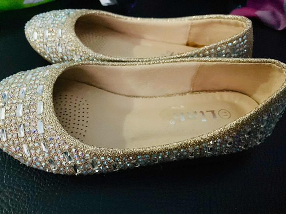 Zapatos De Fiesta Para Niña Talla 11 (americana)
