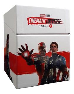 Universo Marvel Fase 1 Uno Coleccion 6 Peliculas Blu-ray