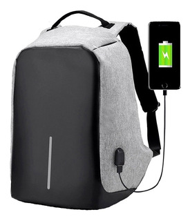 Mochila Antirrobo Cargador Usb Power Bank Regalo Empresarial