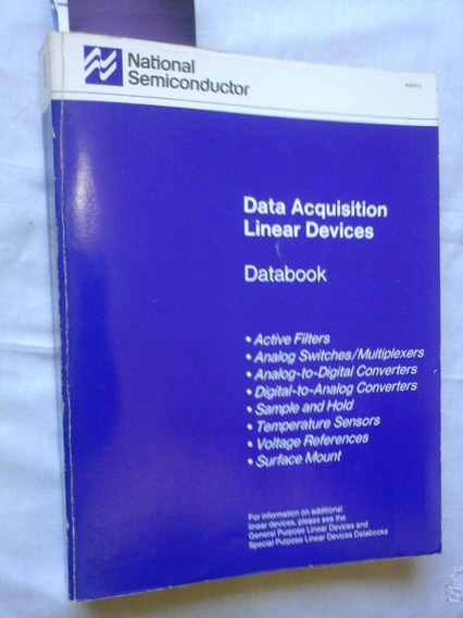Databook National Semiconductor Data Acquisition Linear