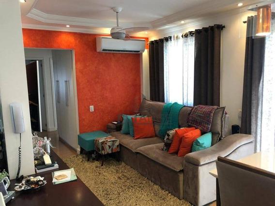 Apartamento Com 3 Dormitórios À Venda, 70 M² - Parque Villa Flores - Sumaré/sp - Ap17892