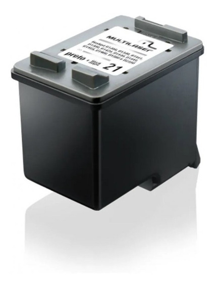 Cartucho Jato Adaptável Com Hp Mod. 000021 Preto Multilaser