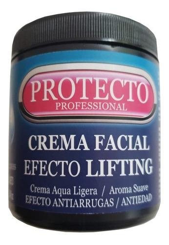 Imagen 1 de 7 de Crema Facial Efecto Lifting Protecto Professional 500g