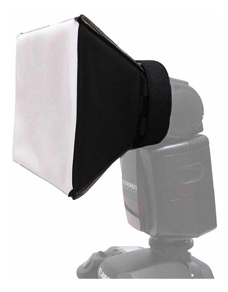 Difusor Universal De Flash Mini Softbox Pixco Nikon Canon