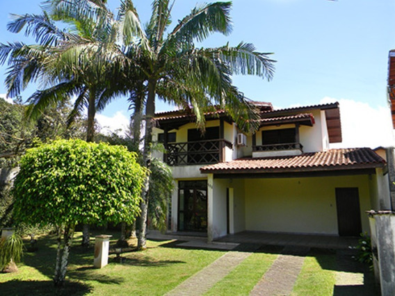 Casa De Aluguel No Bougainville, Condomínio Fechado Em Bertioga - Cc00085 - 32866638