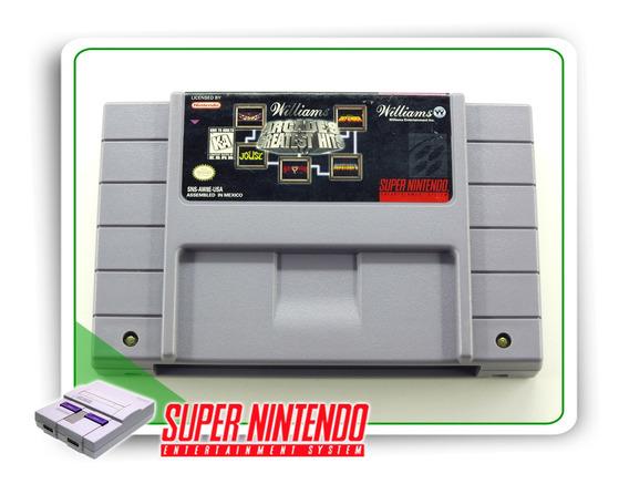 Williams Arcades Greatest Hits Original Super Nintendo Snes