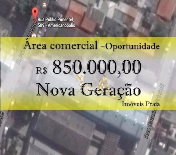 Terreno Comercial À Venda, Americanópolis, São Paulo. - Te0001