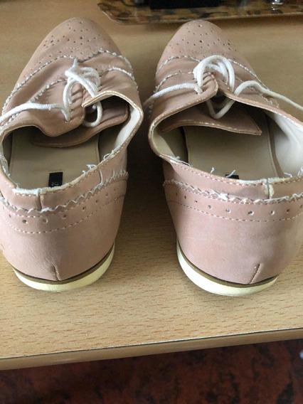 Zapato Niña Forever 21 De Plantilla 25 Y Medio