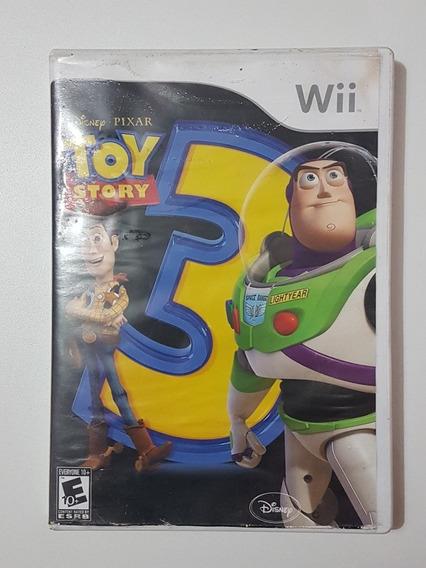 Capa Toy Story 3 Original Para Nintendo Wii