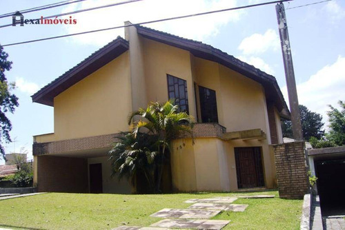 Casa Com 4 Dormitórios À Venda, 400 M² Por R$ 1.800.000,00 - Aldeia Da Serra - Barueri/sp - Ca0015