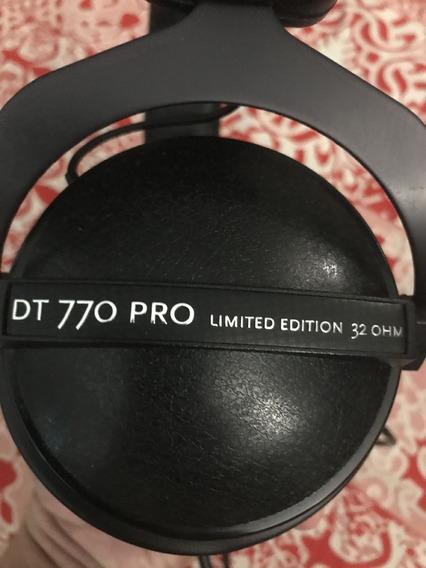 Fone Beyerdynamic Dt 770 Pro Edição Limitada, 32 Ohms