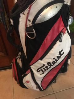 Bolsa Golf Titleist Carro Muy Buen Estado 14 Divisiones -