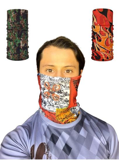 5 Pack Bandana - Tipo Buff, Mascara, Moto, Deportiva