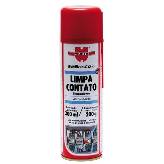Limpa Contato Removedor Wurth 300ml / 200g