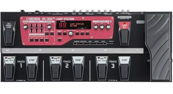 Pedaleira Boss Rc300 Loop Station Guitarra Violao Rc-300