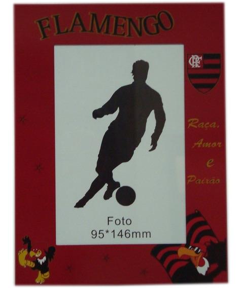 Porta Retrato Do Flamengo Material Em Alumínio