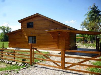 Cabaña Cerca Villa Gral Belgrano 4 Estrellas Para 6 Personas