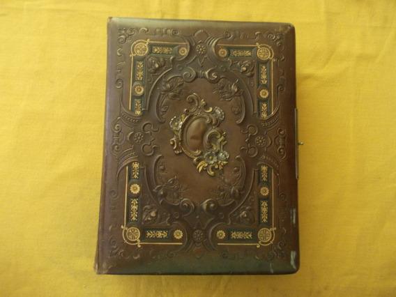 2205 Muy Antiguo Album( Con 12 Fotos) Aprox 1900