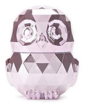 Owl Lip Gloss - Coruja Metálica Rosa Ou Prata