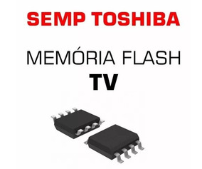Memoria Flash Gravada Tv Semp Lc3246wda Original Nova