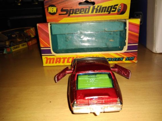 Miniatura Matchbox Speed King Citroen K33 1/43 Completa
