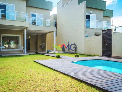 Casa Residencial À Venda, Jardim Paulista, Atibaia. - Ca0003