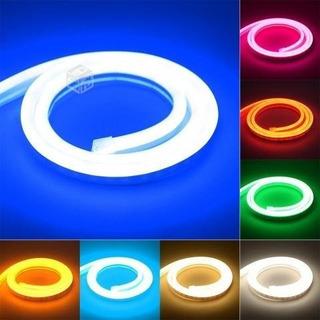 Tira Manguera De Luz Led Tipo Neon Varios Colores Por Metro