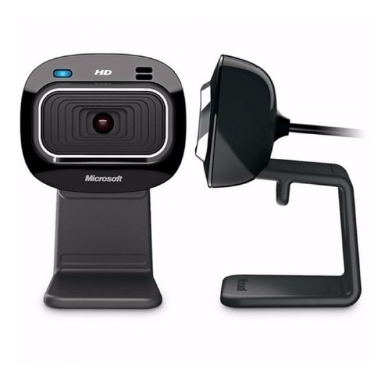 Webcam Câmera Microsoft Hd-3000 Lifecam T4h-00002 Preto