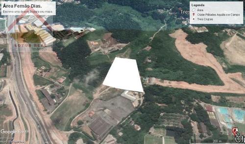 Área A Venda No Bairro Três Cruzes Em São Paulo - Sp.  - 847-1