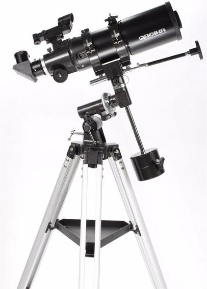 Telescopio Equatorial Refrator Bt40080eq Com Tripé -greika