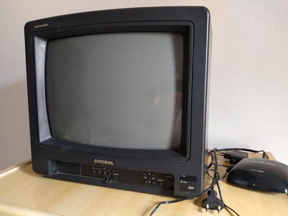 Tv Tubo 14 Com Conversor - Somente Retirada Em Itatiba, Sp