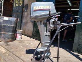 Suzuki 15 Hp 2 T. Pata. Larga Semi Nuevo, Perfecto Estado
