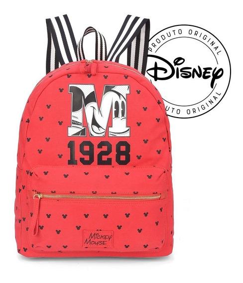 Bolsa Mochila Mickey 1928 Coleção 90 Anos - Original Disney