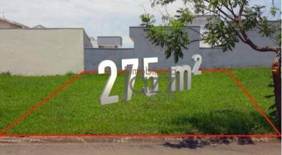 Terreno À Venda, 275 M² Por R$ 152.000 - Condomínio Di Mônaco - Hortolândia/sp - Te0842
