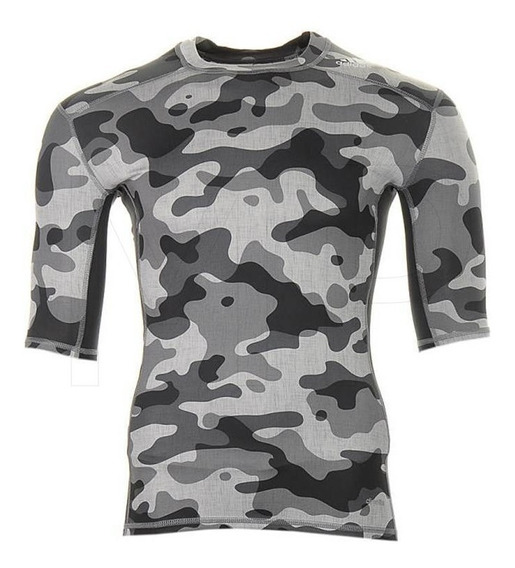 adidas Tech-fit Base Short Sleeve Mens Compression Top