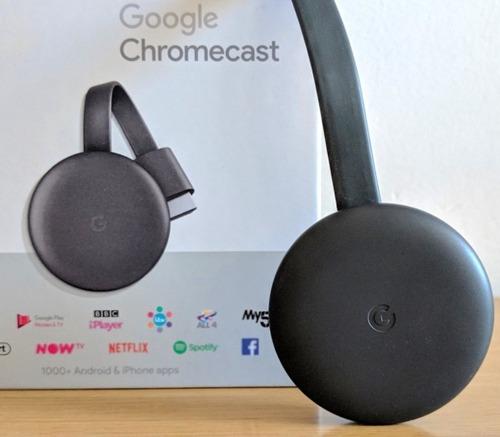 Google Chromecast 3, Convierta Su Tv Led En Smart