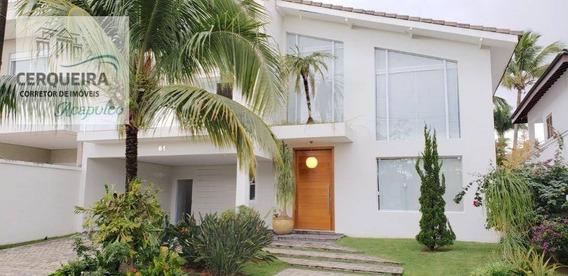 Casa Com 5 Dormitórios À Venda, 400 M² Por R$ 2.500.000,00 - Acapulco - Guarujá/sp - Ca0546