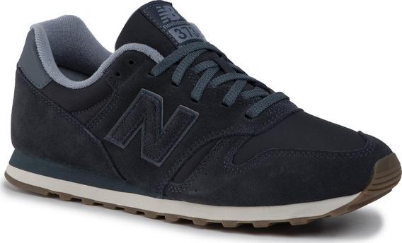 Tênis New Balance 373 Classic Masculino Cinza Escuro Ml373sb
