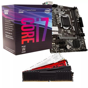 Kit 8º Geração Intel Core I7 8700 + H310m + 8gb Promoção
