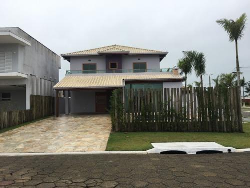 Casa Alto Padrão De 300 Mts Em Peruíbe Litoral - 6213 Npc