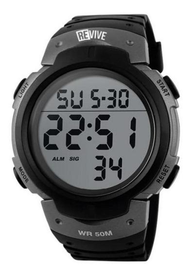 Reloj Revive Kr0711 Gris Hombre