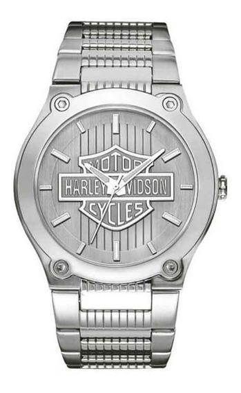 Relógio Bulova Harley Davidson Masculino Analógico Wh30091q