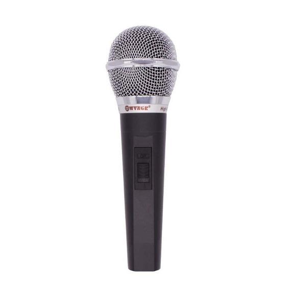 Microfone Profissional Dinâmico Alta Fidelidade Excelente