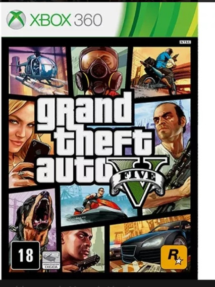 Call Of Duty Ops 2 E Gta V Xbox 360 Midia Digital