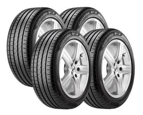 Jogo 4 Pneus Pirelli 205/50r17 93w Xl Cinturato P7